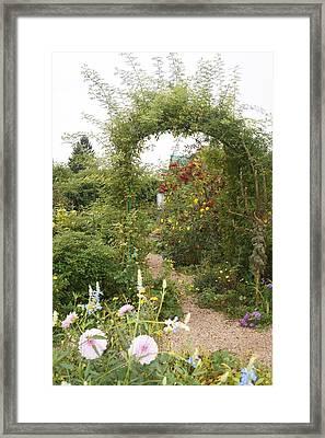 Under The Arch Framed Print by Kristine Bogdanovich