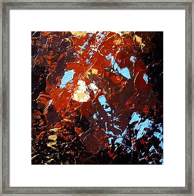 under the autumn sky II Framed Print by Holly Anderson
