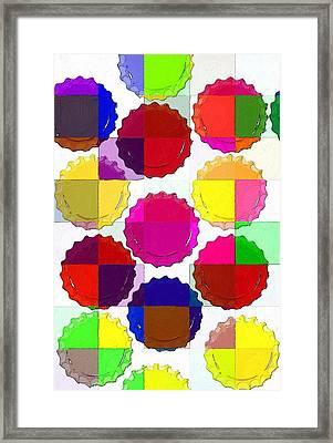 Under The Blanket Of Colors Framed Print by Florian Rodarte
