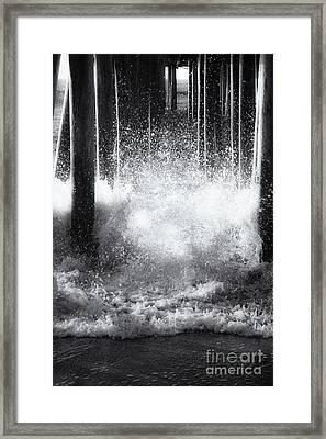 Under The Boardwalk Framed Print by Sue OConnor