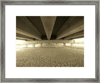 Under The Bridge Framed Print by Joanne Askew