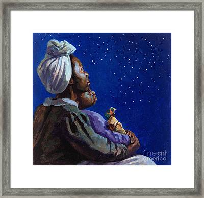 Under The Midnight Blues Framed Print by Colin Bootman