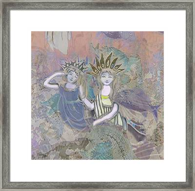 Under The Sea Framed Print by Amelia Carrie