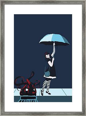 Under The Street Framed Print by Stacy Parker