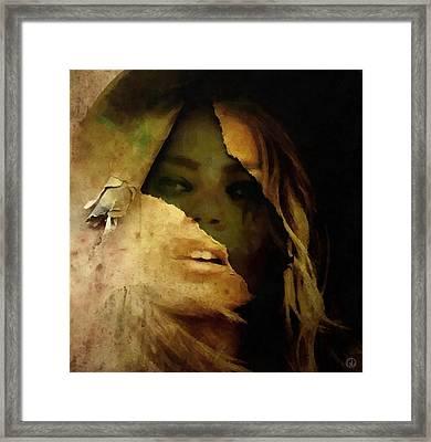 Under The Surface Framed Print by Gun Legler