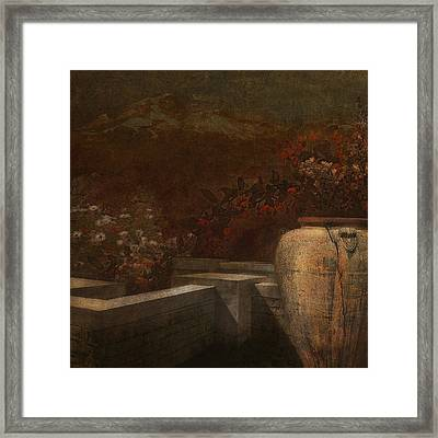 Under The Surface Of Things Framed Print by Jeff Burgess