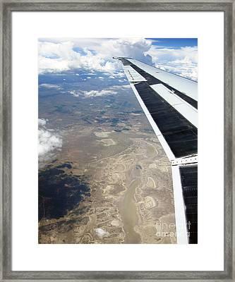 Under The Wing Series. #001 Framed Print by Ausra Huntington nee Paulauskaite