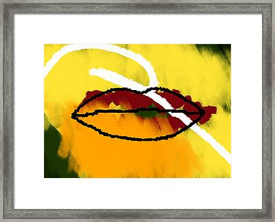 Under Your Breath Framed Print by Condor