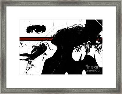 Undercover Framed Print by Gerlinde Keating - Galleria GK Keating Associates Inc