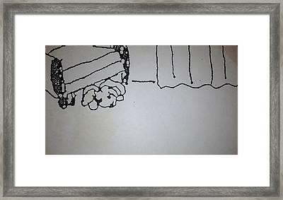 Underdog 1 Framed Print by Erika Chamberlin