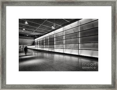 Underground Framed Print by Rod McLean