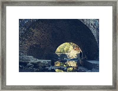 Underneath It All Framed Print by Laurie Search