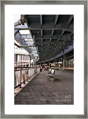 Underneath The Fdr Framed Print by Jannis Werner