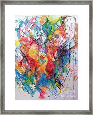 Understanding About Waiting 2 Framed Print by David Baruch Wolk