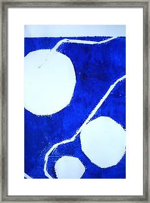 Underwater Abstract Art Framed Print by Nancy Merkle