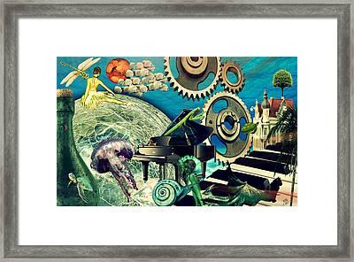 Underwater Dreams Framed Print by Ally  White