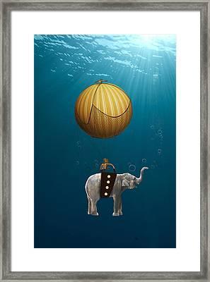 Underwater Fantasy Framed Print by Marvin Blaine