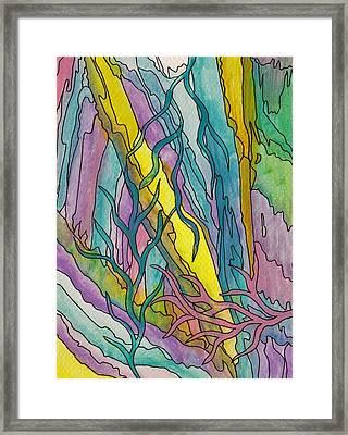 Underwater Weeds Framed Print by Barbara St Jean