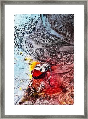 Underworld Feeding Ground Framed Print by Petros Yiannakas