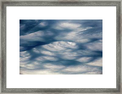 Undulatus Asperatus Cloud Formation Framed Print by Laurent Laveder