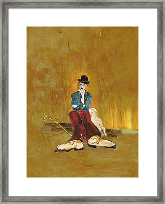 Une Vie De Chien - Orig. For Sale Framed Print by Bernard RENOT