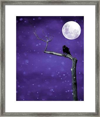 Unearthly Sky Framed Print by Gothicrow Images
