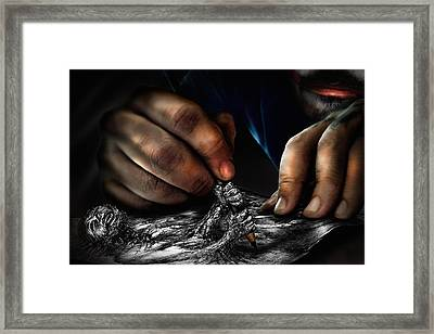Unfinished Framed Print by Alessandro Della Pietra