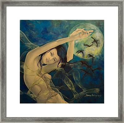 Unfinished Song Framed Print by Dorina  Costras