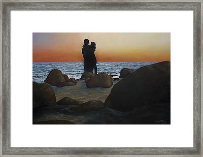 Unforgettable Framed Print by C Michael French