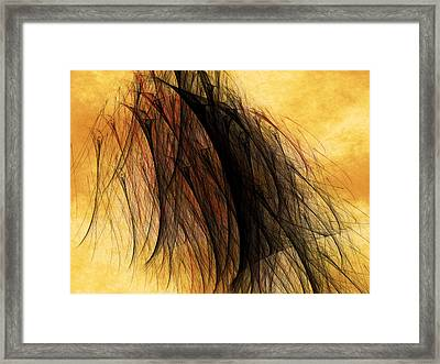 Unholy Glade Of Oblivion Framed Print by Jeff Iverson