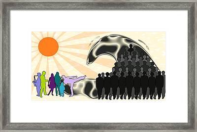 Unification Framed Print by Anastasiya Malakhova