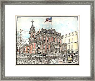 Union League Philadelphia Framed Print by Ira Shander