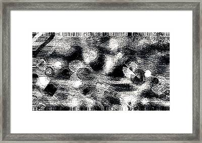 Union Of Stark Contradictions Framed Print by Lenore Senior