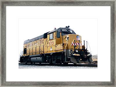 Union Pacific Yard Master Framed Print by Steven Milner