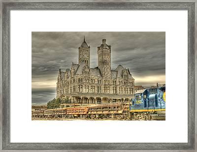 Union Station Framed Print by Brett Engle