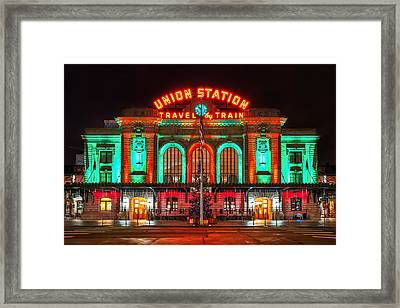 Union Station  Framed Print by Darren  White