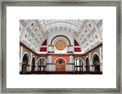 Union Station Nashville Tennessee Framed Print by Frozen in Time Fine Art Photography