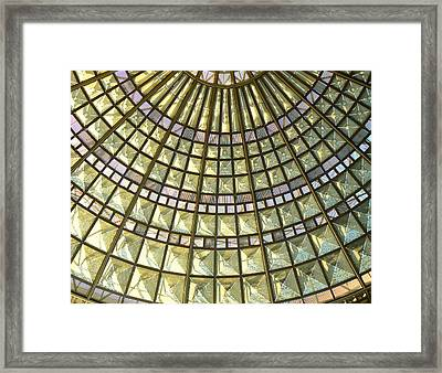 Union Station Skylight Framed Print by Karyn Robinson