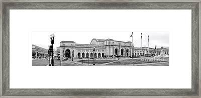 Union Station Washington Dc Framed Print by Olivier Le Queinec