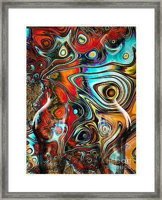 United Framed Print by Jacky Gerritsen