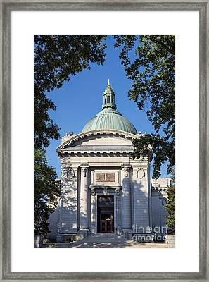 United States Naval Academy Chapel Framed Print by John Greim