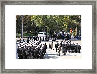 United States Naval Academy In Annapolis Md - 121233 Framed Print by DC Photographer