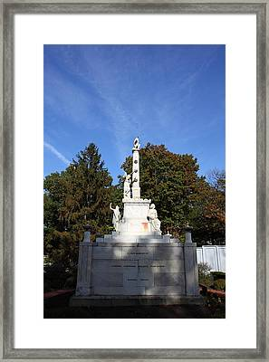 United States Naval Academy In Annapolis Md - 121253 Framed Print by DC Photographer