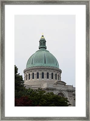United States Naval Academy In Annapolis Md - 121258 Framed Print by DC Photographer