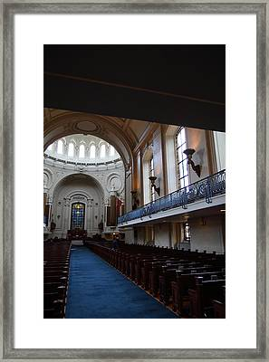 United States Naval Academy In Annapolis Md - 121261 Framed Print by DC Photographer
