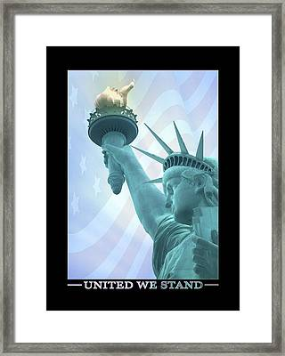 United We Stand Framed Print by Mike McGlothlen