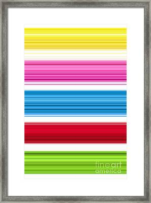 Unity Of Colour 3 Framed Print by Tim Gainey