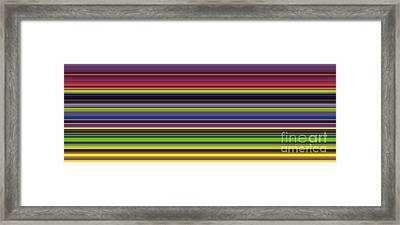 Unity Of Colour 5 Framed Print by Tim Gainey