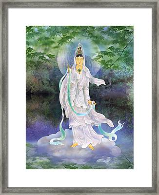 Universal Kuan Yin Framed Print by Lanjee Chee