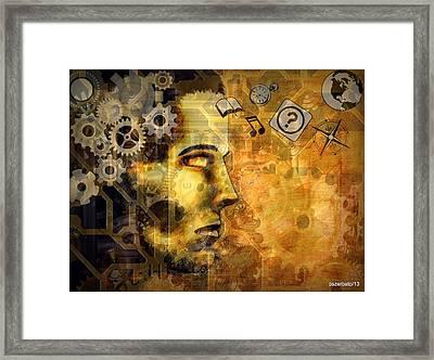 Universal Mechanics Framed Print by Paulo Zerbato